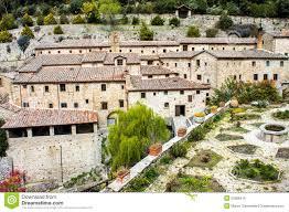 Cortona Italy Map by Franciscan Hermitage In Cortona Italy Stock Photo Image 52589418
