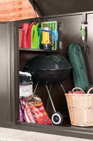 Rubbermaid Vertical Storage Shed 3746 by 7 X 4 Metal Garden Shed Asgard