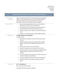 Sample Resume Objectives For Quality Assurance by Business Analyst Resume Samples Ilivearticles Info Sample Doc Exam
