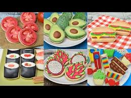 decorated cookies best decorated cookies that look like other foods compilation