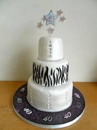 sam 0570 40th birthday cake 3 tier cakes by jo