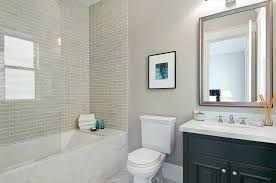 glass tiles bathroom ideas gray tile bathroom