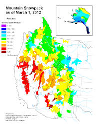 Colorado Gmu Map by Spring Snowpack Below Average In Much Of The West