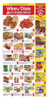 winn dixie weekly ad food august 9 15 2017