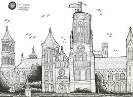 Smithsonian Castle Floor Plan Urban Sketchers Seattle January 2013