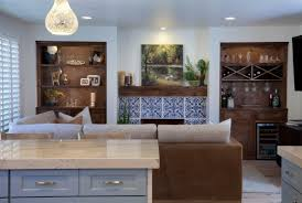 Colorful Kitchen Design by Colorful Kitchen Design Remodel With Colorful Blue And White Tile