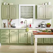 painted kitchen furniture how to paint kitchen cabinets better homes gardens
