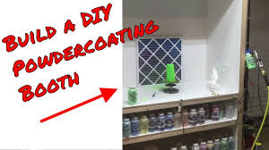 how to build a photo booth building a diy powder coating booth