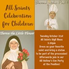 Prayer To St Therese The Little Flower - st paul catholic church u0026 preschool holy days