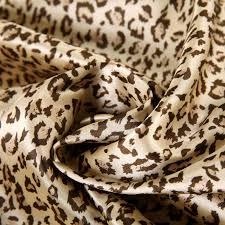 bedding set luxury silk leopard design duvet cover set twin full