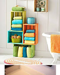 Bathroom Storage And Organization 20 Diy Bathroom Storage Ideas For Small Spaces Crate Storage
