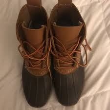 s bean boots size 9 35 l l bean boots navy l l bean boots 6 size 9 from