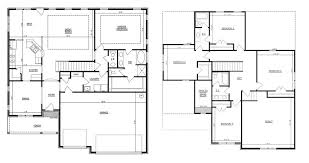 5 bedroom floor plans 2 story v a williamson co floor plans regent homes