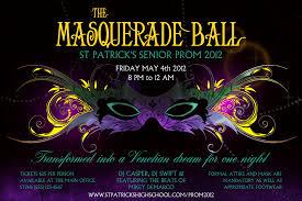 masquerade ball event ticket