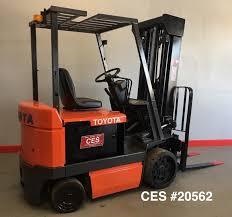 toyota main ces 20562 toyota 5 000 lbs electric forklift coronado