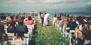 wedding venues in montana compare prices for top waterfront view wedding venues in montana