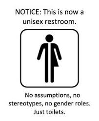 artist hopes to flush binaries with gender neutral bathroom sign
