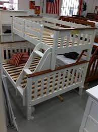 Two Bunk Beds Bunk Bed Single Two Tone Or White Solid New Goingbunks Biz
