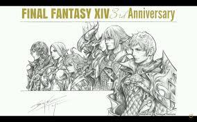 hope incarnate u2014 tetsuya nomura drawing featuring the main cast of