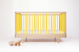 caravan crib modern solid wood convertible crib kalon studios us