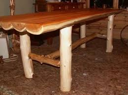 Log Dining Room Table Rustic Log Table Rustic Log Cabin Furniture Cedar Log Furniture