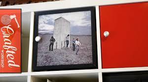 Diy Door Frame Diy Ikea Expedit Kallax Door With Vinyl Album Art Ikea Hacks