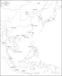 Blank Map Asia by East Asia Free Map Free Blank Map Free Outline Map Free Base