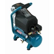 makita 2 6 gal 2 hp portable electrical dog air compressor