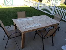 Free Wooden Outdoor Table Plans by Free Wood Patio Table Plans Fine Art Painting Gallery Com