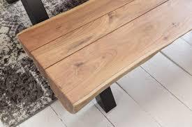 Design Esszimmer Bank Wohnling Esszimmerbank Akazie Landhaus Stil Voll Holz 170 X 46 X