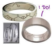 geeky wedding rings blurgh the thinkgeek my big ntfs wedding thinkgeek