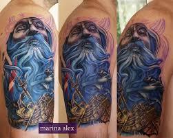 sea ship poseidon tattoo by marinaalex on deviantart