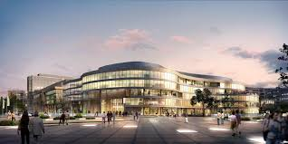 big and modern city shopping mall 3d model shopping mall