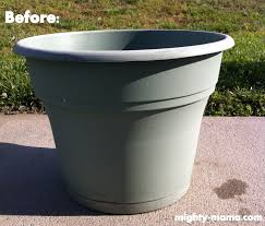 Painting Garden Pots Ideas Resin Garden Pots Lawsonreport 591fc3584123