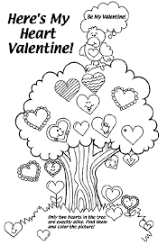 happy valentines coloring pages happy valentines coloring