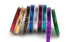 metallic ribbon creative ideas ribbons scrapbooking supplies