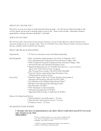 Insurance Resume Format Insurance Trainer Resume Free Resume Example And Writing Download