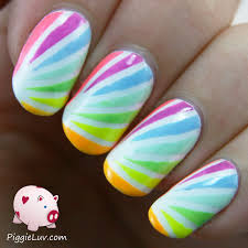 15 starburst nail design 25 beautiful starburst nails with tape