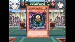 yu gi oh gx all three egyption god cards tribute summon in your