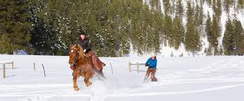winter fun triple creek ranch