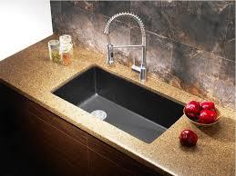 Swan Granite Kitchen Sink by Kitchen Granite Kitchen Sinks With Regard To Magnificent Kitchen