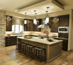 wonderful beige brown wood glass modern design cool retro kitchen