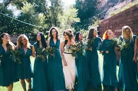 teal wedding bohemian topanga wedding marissa