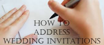 wedding invitations how to address how to properly address wedding invitations unique wedding ideas