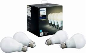 best buy light bulbs philips hue white a19 wi fi smart led bulb 4 pack white 472027