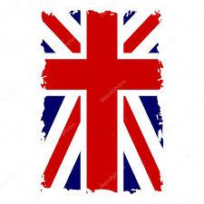 Beitish Flag British Flag Vertical Grunge U2014 Stock Vector Alona S 118146430