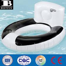 siege gonflable b haute résistance vinyle gonflable siège de toilette bol piscine