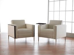 Reception Lounge Chairs Contemporary Lounge Chair Fabric Wooden Commercial Y60