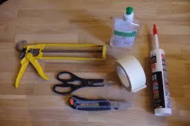 joint étanchéité plan de travail cuisine pas à pas un joint de silicone parfaitement droit