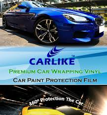 car wrapping paper 150microns car paint protection vinyl carlike car wrapping
